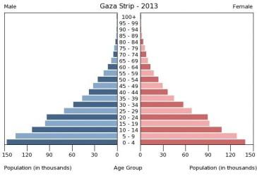 gaza demographics